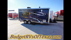 check out this very cool 18ft 2016 per pull work play toy hauler