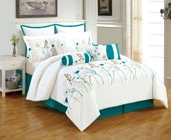 white turquoise bedding c navy double kids blue bedspread teal king size and sets c