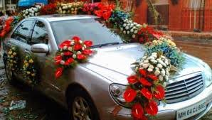 Car Decoration Design Wedding Car Decoration Wedding Flower Decoration in Babu Colony 2