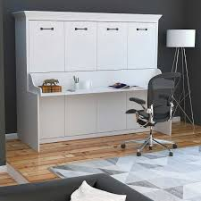 murphy bed desk combo. Melbourne Queen Wall Bed Desk Combo White Modern Picture Vintage Full Wood Solid Murphy S