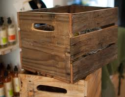 Wine Crate / Wood Crate - Made of Reclaimed Wood