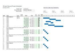 Weekly Gantt Chart Excel Template Xls Microsoft Excel Gantt Chart Template Iamfree Club