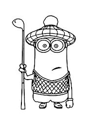 Cattivissimo Me Il Minions Kevin Con Il Vestito Da Golf
