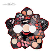 makeup sets 2018 hot rotatable makeup plate with diffe eye shadow lipsticks blusher make up tools beauty cosmetic kits makeup plate makeup set make up