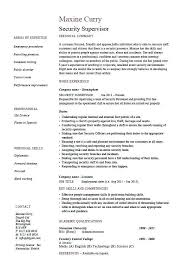 Shift Manager Resume Amazing Shift Manager Resume From Resume Job Descriptions Security
