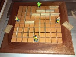 Homemade Wooden Board Games Make a Quoridor game Woodworking for Mere Mortals 10