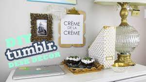 diy tumblr desk decor makeover diy room decor goals youtube