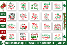 You can use this for wallpaper, poster, tshirt, label stickers, gift cards, covers, printed paper items and etc with various. Free Christmas Quotes Design Bundle Xquissive Com