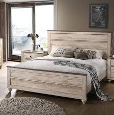 New king size bed frame as pictured beautiful rustic wood look | new ...