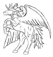 Pegasus Coloring Page Ispeakanglaisclub