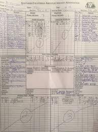 Hockey Score Sheet Classy Index Of Scoresheets
