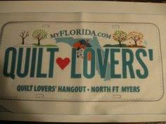 Quilt Hounds license plate | 2014 Row by Row Experience -Sew a ... & Quilt Lovers' Hangout | North Fort Meyers, FL | Quilt Supplies Adamdwight.com