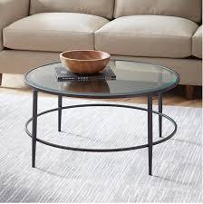 harlan round coffee table 134 99 via birch lane