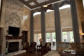 Decorating High Ceiling Walls European Living Room Traditional Interior Design Ideas With High
