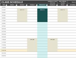 70 Free Schedule Planner Templates Word Excel