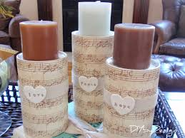 Diy Candle Holders Diy By Design Diy Candle Holders