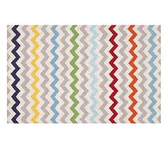chevron multi rug 8x10