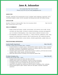 Nurse Resume Examples Best New Grad Rn Resume Sample Igniteresumes