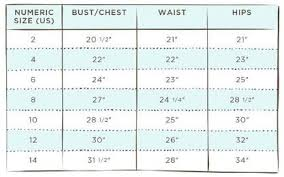 Girls Size Chart Size Guide Platinum By Matilda Jane Clothing