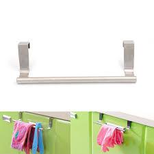 wall mounted towel rack bathroom hotel rail holder storage shelf stainless steel