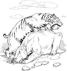 Small Picture Coloring Pages of Tigers For Kidsgif coloring pages Pinterest