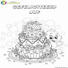 Mooie Jarig Verjaardag Kleurplaten Dejachthoorn