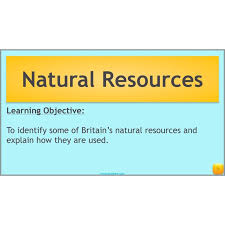 Natural Resources | Natural Resources KS2 | Complete Series