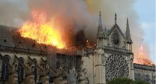 Risultati immagini per incendie notre dame de paris