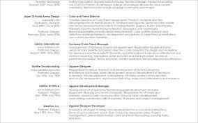 Fashion Resume Sample – Administrativelawjudge.info