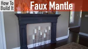 Remodelaholic  Building The Fake Fireplace 2How To Build A Faux Fireplace