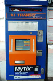 Nj Transit Ticket Vending Machines