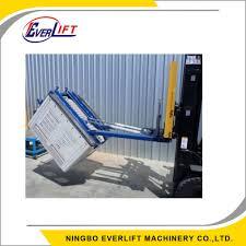 Bin Tipper Design Hot Item Forklift Attachment Cp Qf10b01a Bin Tipper