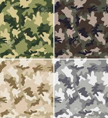 Military Camouflage Patterns Fascinating Set Of Seamless Camouflage Patterns Royalty Free Cliparts Vectors
