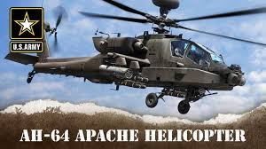 Armys Ah 64 Apache Helicopter