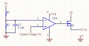 voltage controlled voltage source voltage controlled voltage source schematic