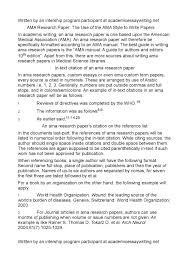 013 Essay Example Ama Format Thatsnotus