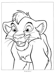 Le Roi Lion 111 Films D Animation Coloriages Imprimer
