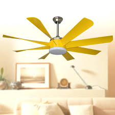 led ceiling fan modern stylish led ceiling fans lights inches yellow eight blade abs fans remote led ceiling fan