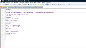 Creating A Website Design Templating System Using Php How To Create A Basic Website Design Template Using Php Css And Xhtml Part 1 Of 3