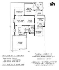 ... House Plans With 3 Car Garage Modern House Plans E Bedroom Bath Plan  Property Management Iowa ...