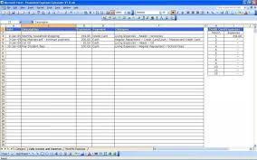 Track My Spending Spreadsheet Elegant Excel Spending Tracker