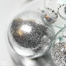 Decorating Clear Christmas Balls Amazing DIY Ideas To Decorate Clear Ornaments Creative Juice