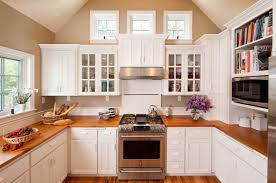 Kitchens With Laminate Flooring Home Interior Design Cape Cod Style Kitchen With Dark Cream Wall