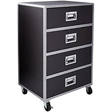 storage chest with drawers. Coaster Home Furnishings LeClair Modern Contemporary Youth Mobile Metal Four Drawer Storage Chest With Casters - Drawers