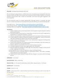 Business Development Manager Description - Teacheng.us