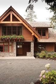 exterior home architecture styles. pacific northwest home exterior, lodge style inspiration, wood and rock fixture, craftsmen homes, architectural design inspiration. exterior architecture styles