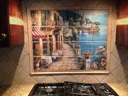 Tile Murals For Kitchen Backsplashes 31 Kitchen Backsplash Murals To Express Your