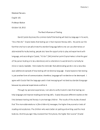 text analysis essay revised final website  parsons 1rebekah parsonsenglish 101professor bolton 18