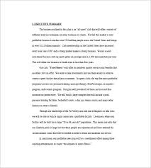 Business Plan For A Gym Templates Gym Business Plan Template 13 Free ...