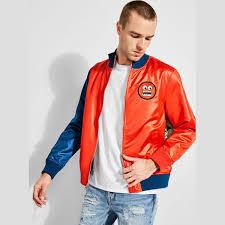 guess x j balvin satin logo er jacket thumbnail 0